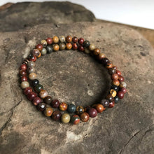 Red Creek Jasper Mini Bead bracelet