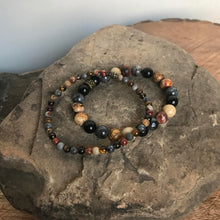 Grounding Energy mini bracelet and 8mm bracelet
