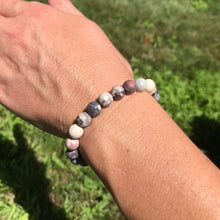 Porcelain Jasper Bracelet on wrist