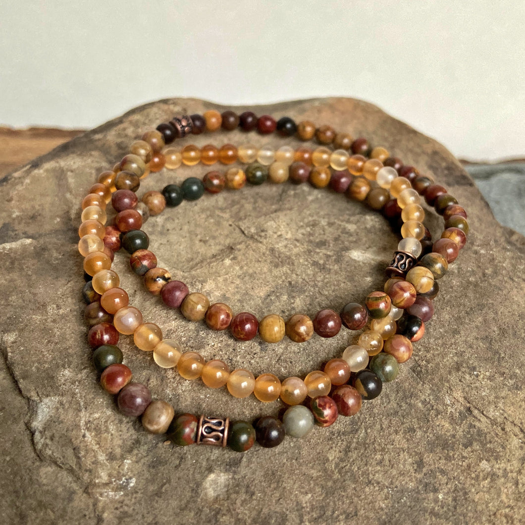 Grounding Mini Bead Trio
