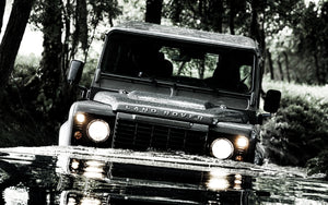 The Landrover 90 and Defender