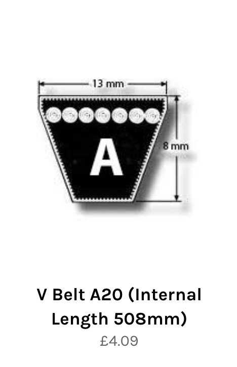 A section V belt