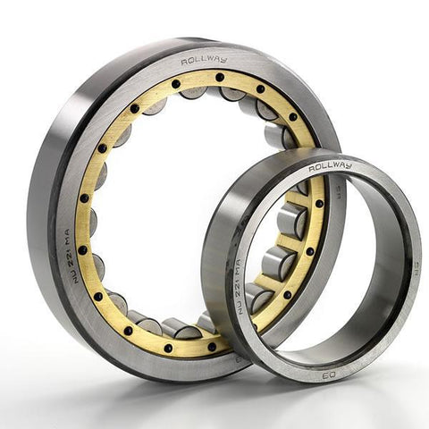 Codex NJ405EM Cylindrical Roller Bearing Extra Load Brass Cage Single Row (25x80x21mm)