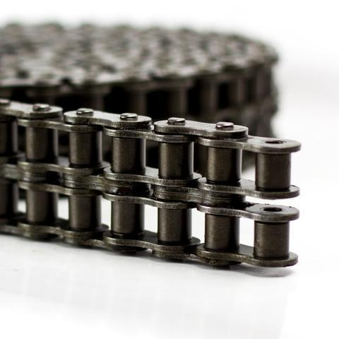 Renold Blue Box 24B-2-NO107 BS Duplex Chain Outer Link (To Be Riveted 1-1/2 inch Pitch)