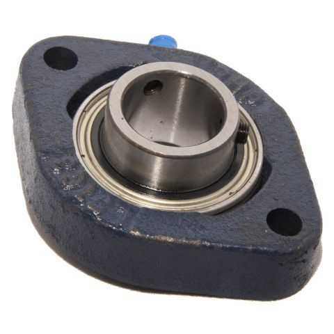 LFTC17 - RHP Cast Iron Flange Bearing Unit - 17mm Shaft Diameter