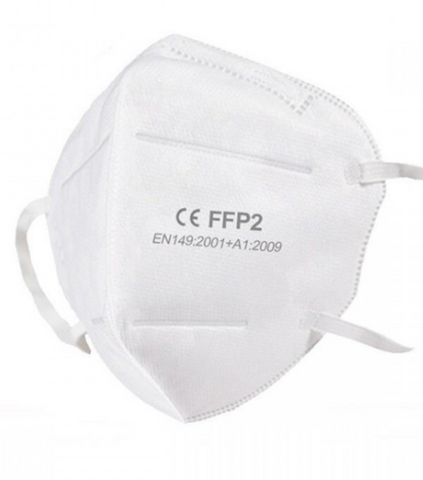 FFP2 CE certified face mask/respirator Pack of 10