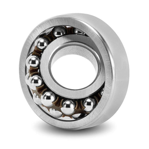 1202 Budget Cylindrical Bored Self Aligning Ball Bearing 15x35x11mm