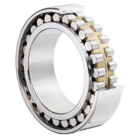Unbranded NJ203EM Cylindrical Roller Bearing Extra Load Brass Cage Single Row (17x40x12mm)