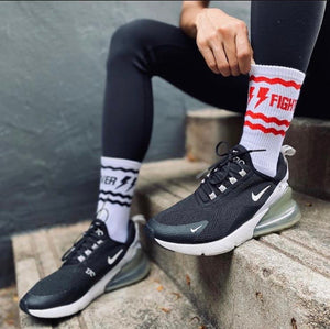 Lover/Fighter Socks