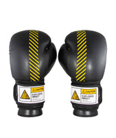 Caution Explosive Black/Yellow Gloves