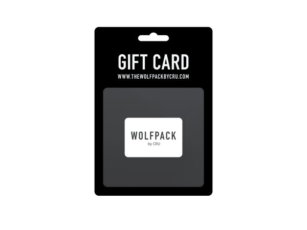 The Wolfpack By CRU Gift Card
