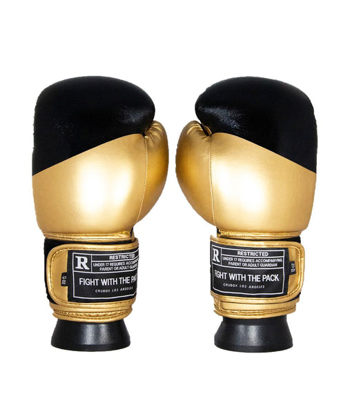 Horizontal Black/Gold Gloves