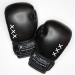 "Boxing Gloves - ""XXX"" Black"