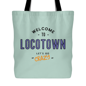 LocoTown Crazy tote -multiple colors available