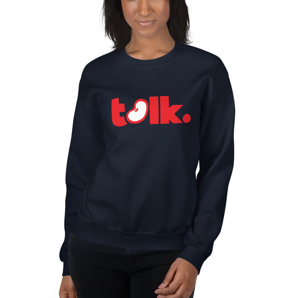 P-Bean Talk Women's Sweatshirt