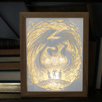 Three Brothers Light Box