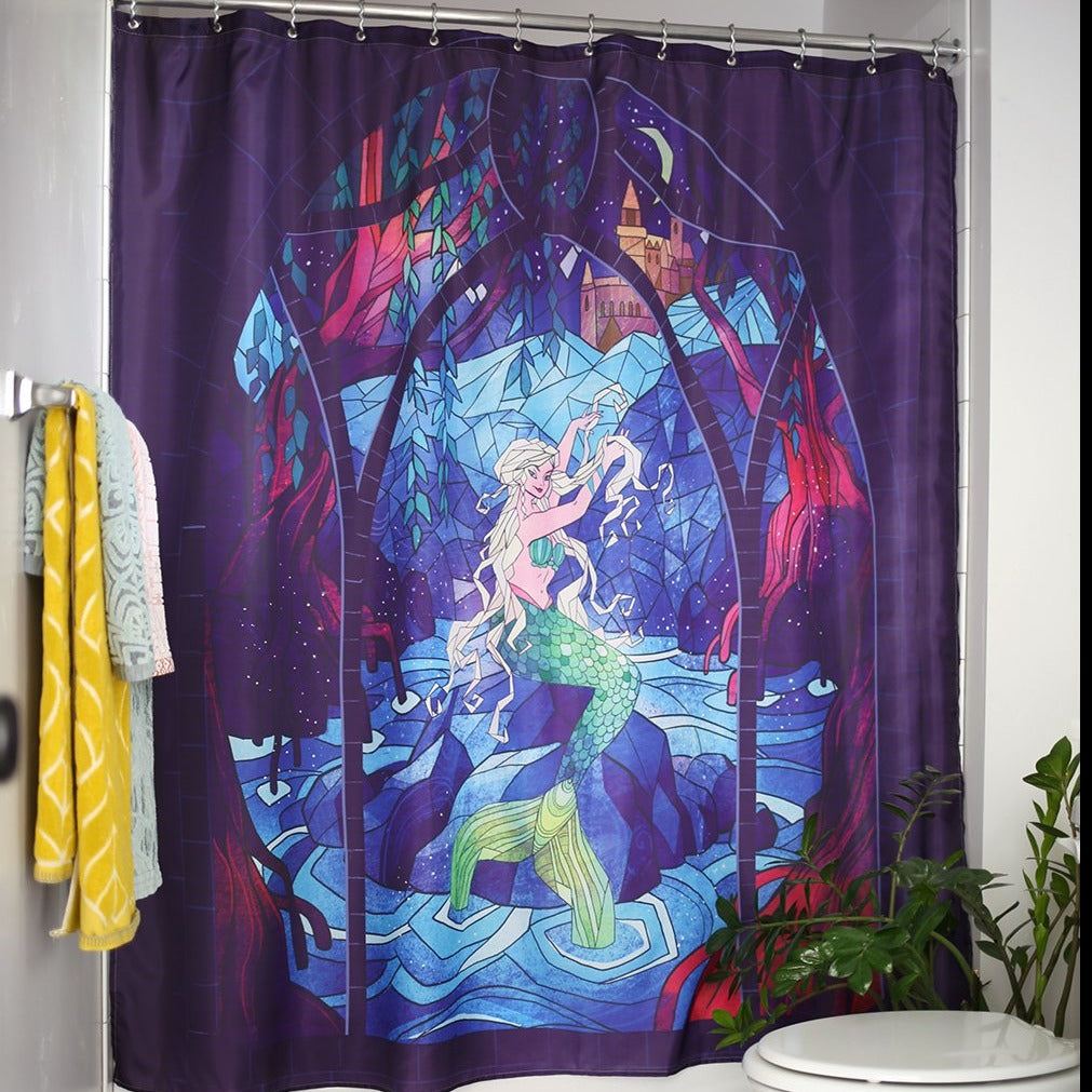 SHOWER CURTAIN - Mermaid Tapestry