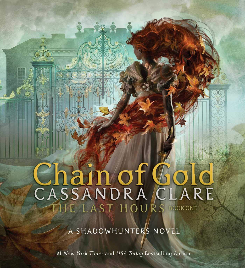 BOOK - Chain of Gold, by Cassandra Clare - LitJoy Pre-Order with Print and Slipcase