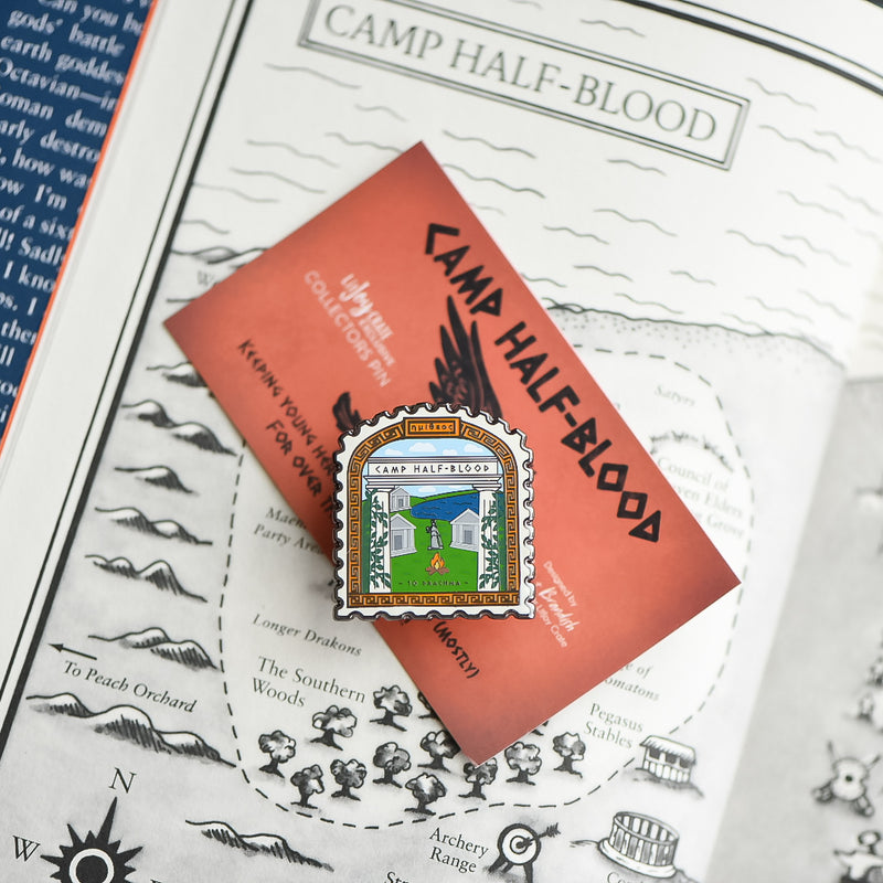 ENAMEL PIN - Camp Half-Blood