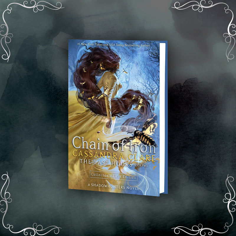 BOOK - Chain of Iron, by Cassandra Clare - LitJoy Pre-Order with Print and Slipcase