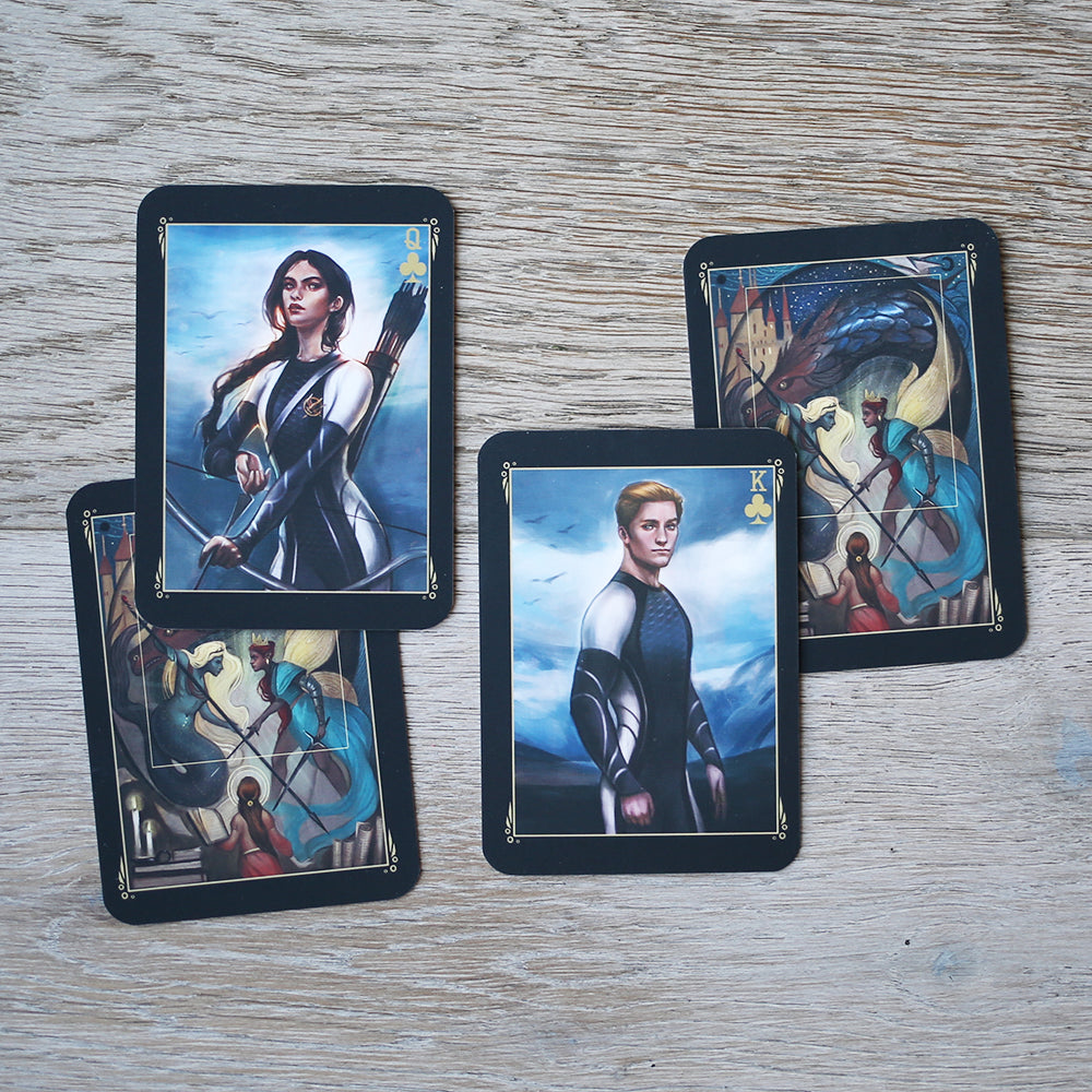 TRADING CARDS - DECK 2 - December Hunger Games (Set of 2)
