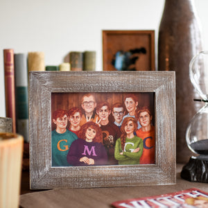 FRAME - Weasley Family Photo