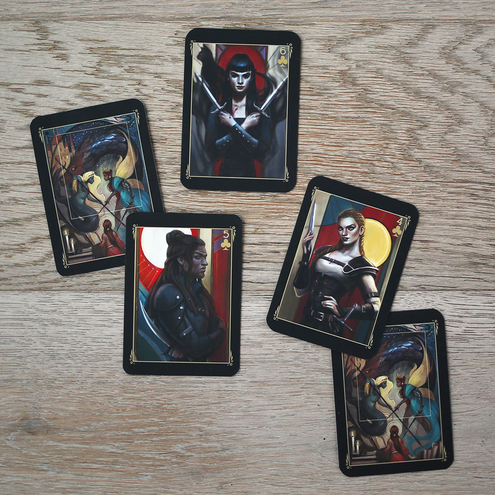 TRADING CARDS - DECK 2 - January Nevernight (Set of 3)