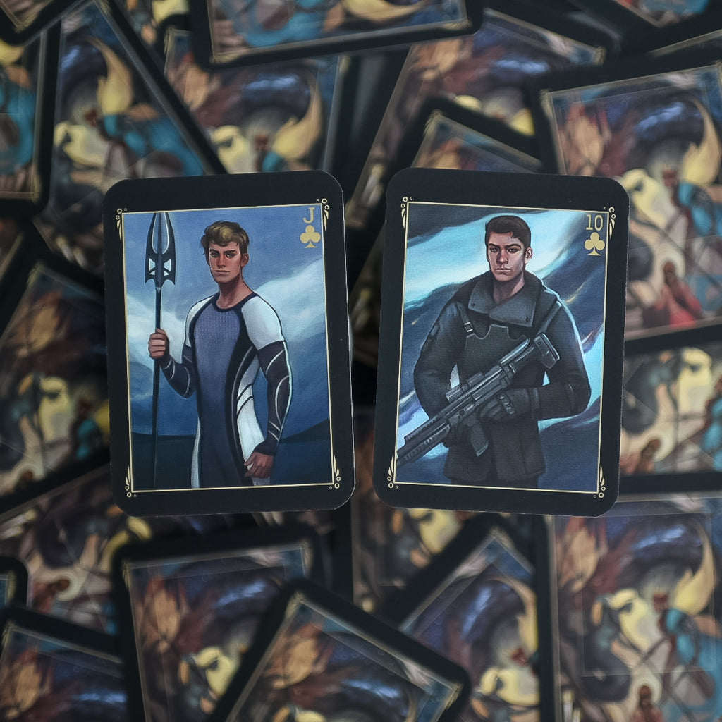 TRADING CARDS - DECK 2 - June's Hunger Games (Set of 2)