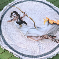 TOWEL - Katniss/Artemis Round Towel