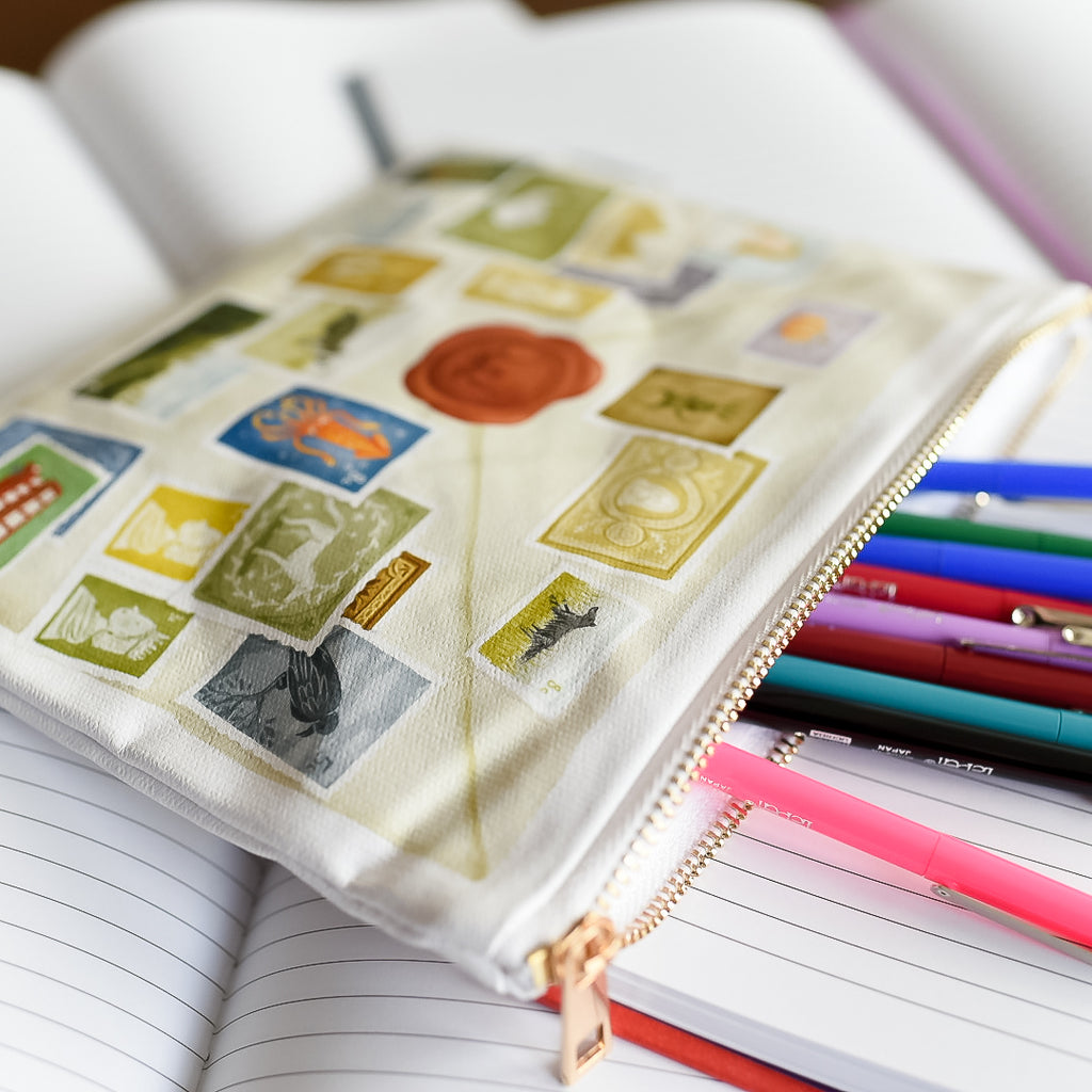 ZIPPER POUCH - Molly's Letter to Dursleys