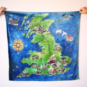 TRAVEL BLANKET - Atlas of the English Magical World