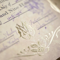 CERTIFICATE - Weasley's Marriage Certificate