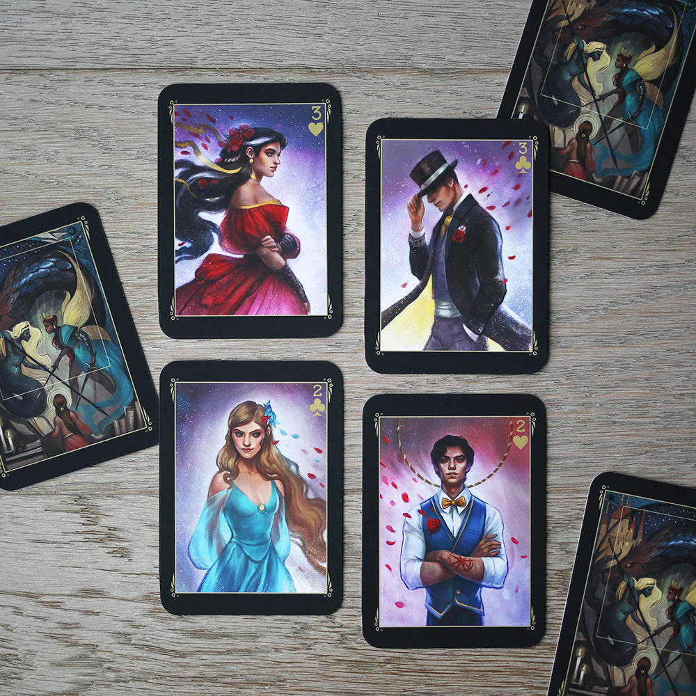 TRADING CARDS - DECK 2 - November Caraval (Set of 4)