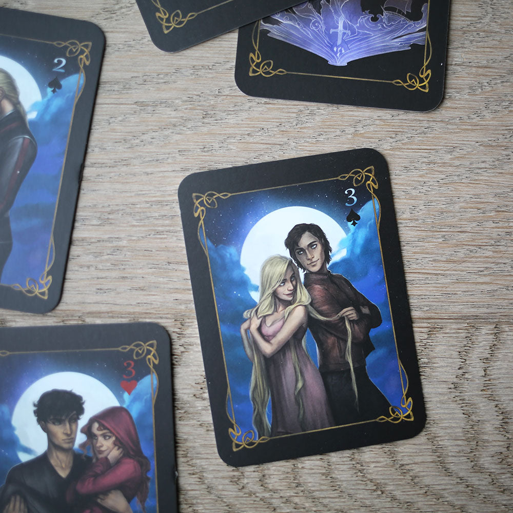 TRADING CARDS - DECK 1 - October Lunar Chronicles (Set of 3)