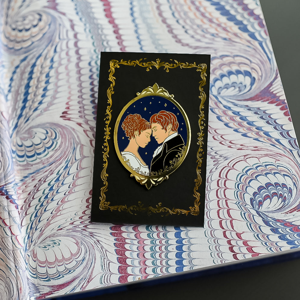 ENAMEL PIN - Pride & Prejudice Cameo (Add-On)
