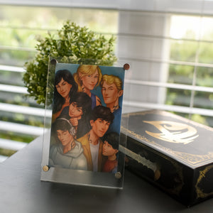 FRAME AND PRINT- Blackthorn Family Picture