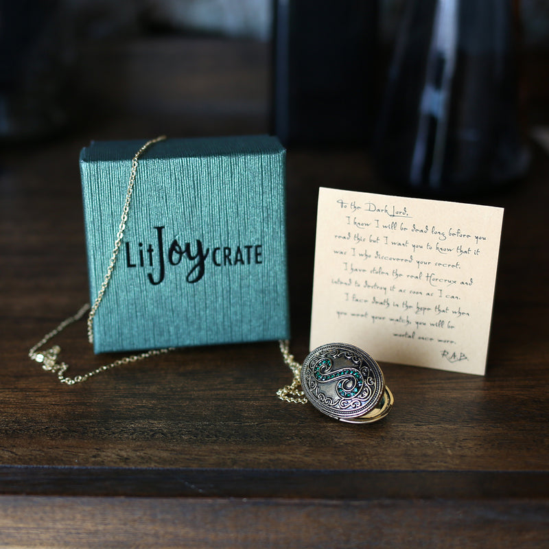 NECKLACE - Slytherin Locket