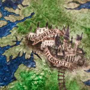 TRAVEL BLANKET -Atlas of the English Wizarding World