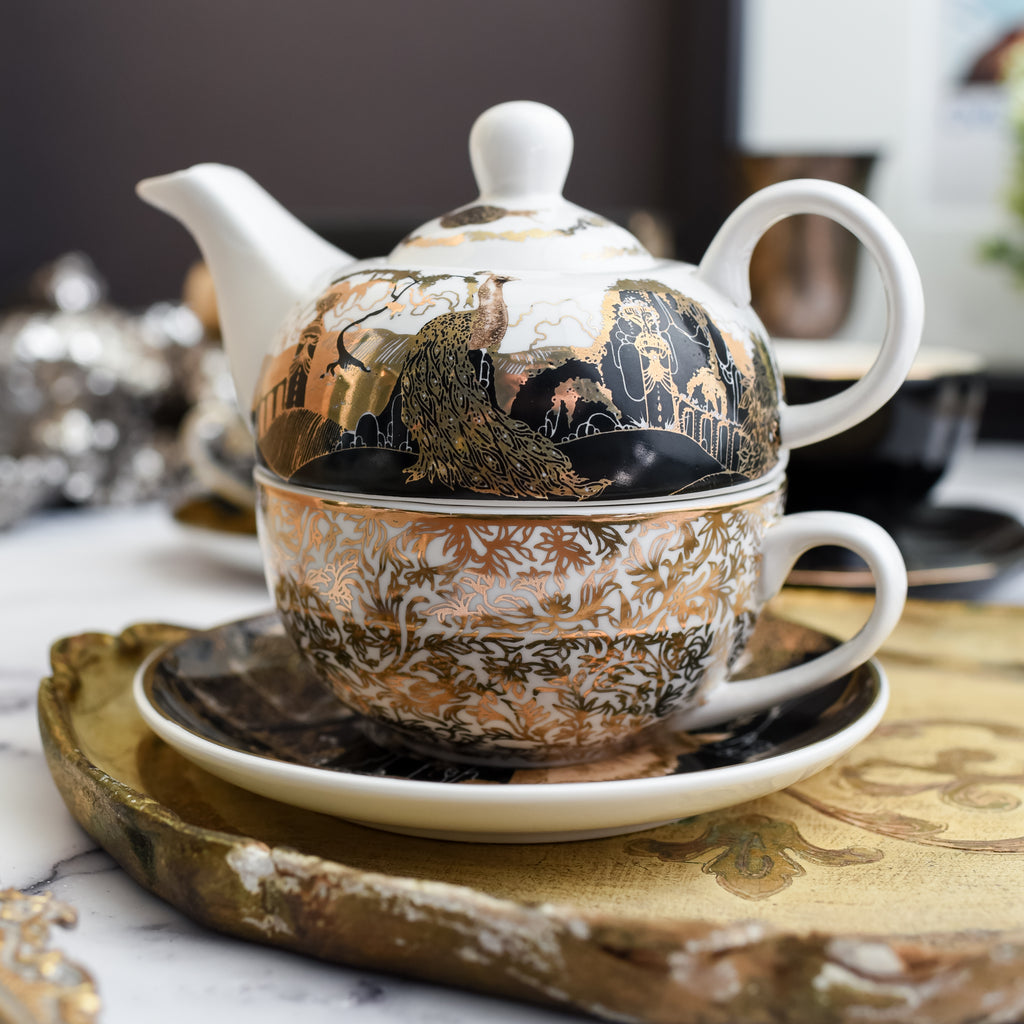 TEA SET - Tea For One (Romantic Collection)