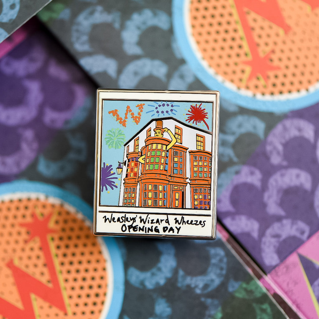 ENAMEL PIN POLAROID - Weasleys' Wizard Wheezes