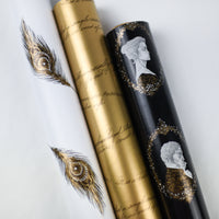 WRAPPING PAPER SET - Romantic Collection