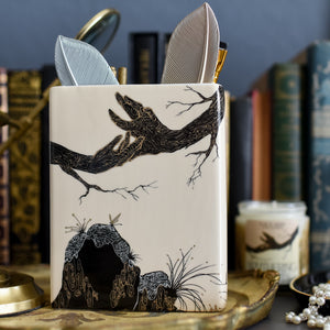 BOOK VASE - Wuthering Heights Book Cover