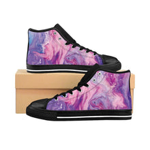 Women's Swirled Paint Sneakers
