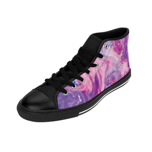 Men's Swirled Paint Sneakers