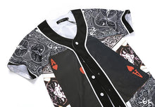 Ace Of Hearts Button Up Tee