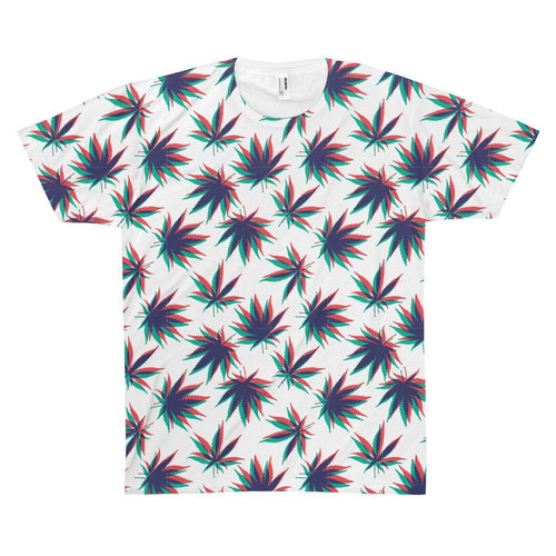 All Over Prints - 3D Weed Tee
