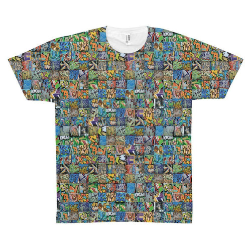 All Over Prints - Graffiti Tee