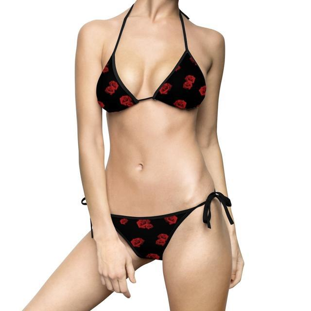 All Over Prints - Rose Bikini