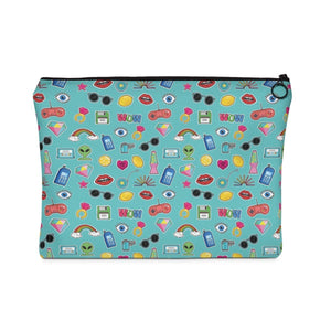 Bags - Sticker Print Makeup Pouch