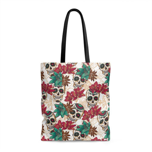 Bags - Tropical Sugar Skulls Tote Bag